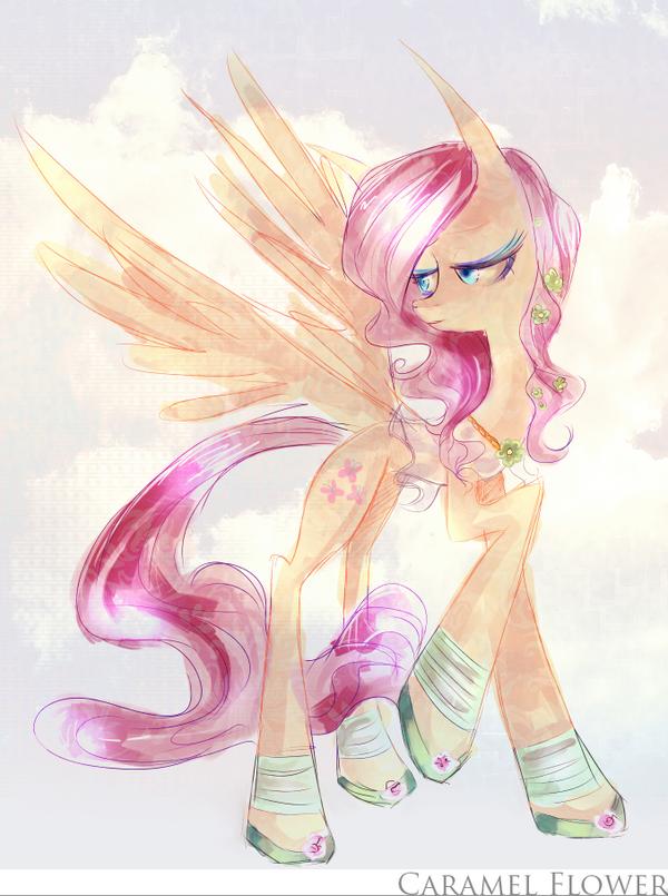Fluttershy by CaramelFlower