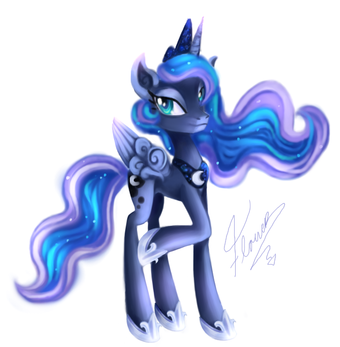 Paintchat:. Luna by CaramelFlower