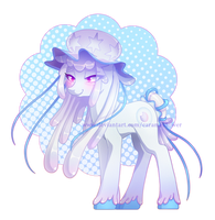 [AUCTION] Nihilego-inspired pony adopt 006(CLOSED) by CaramelFlower