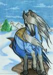 Through Snowy Grounds