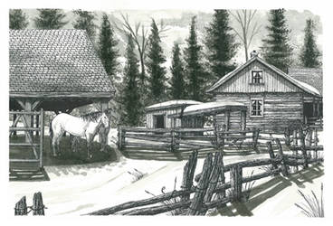 Wilderness Farm by JonBaldock