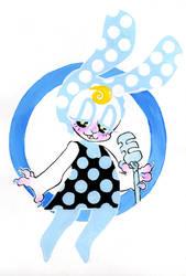 Tiffany the singing bun by VDEETZ