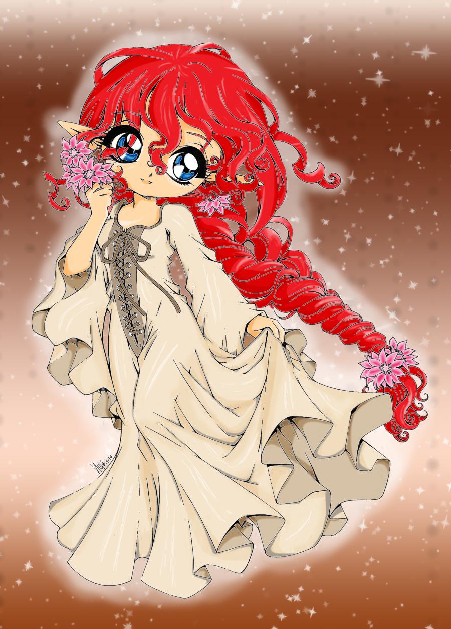 Kiecea Coloured by chibi-shone