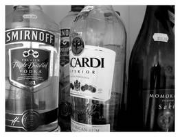 Kitchen: Bottles. by Chameleonperson