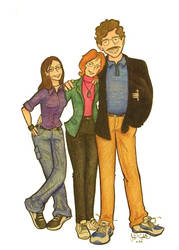 Family portrait by Chameleonperson