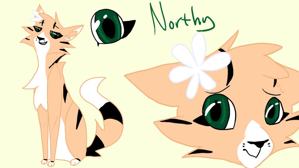 Northy ref by ArterFoxie