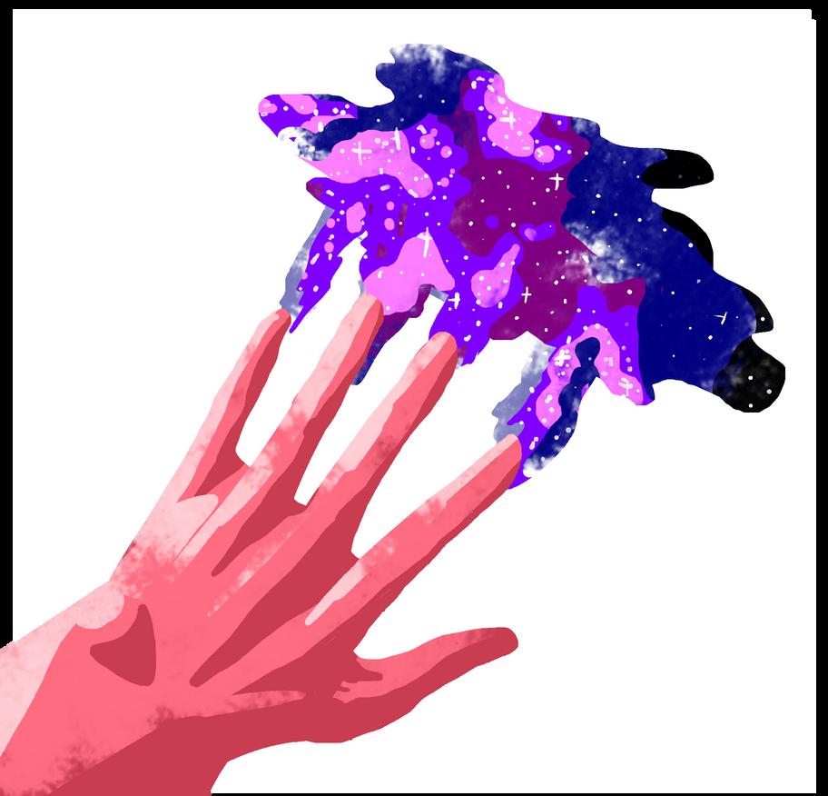 Fingerpainting by ArterFoxie