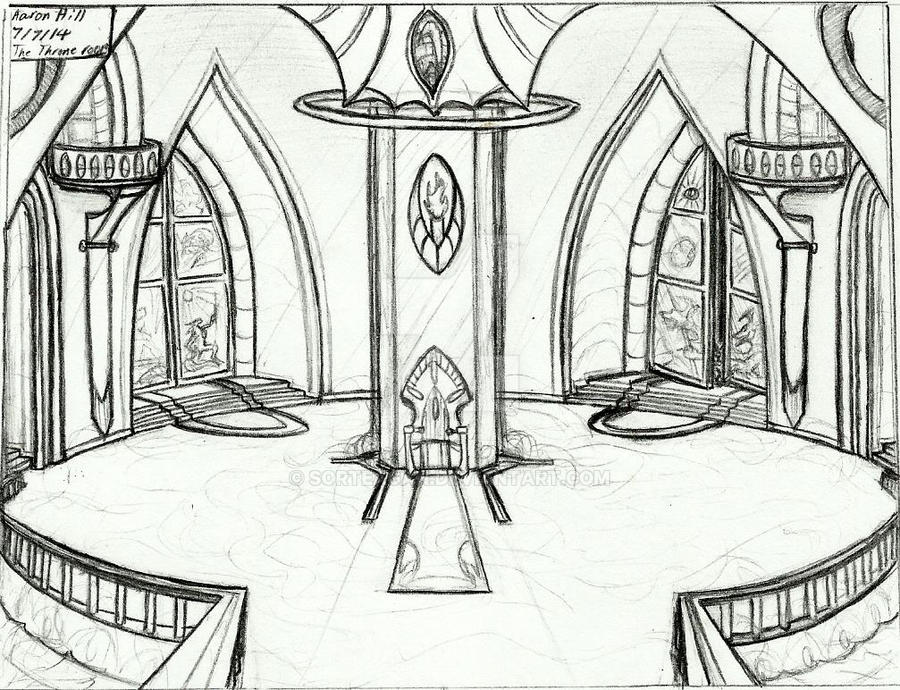 The Royal Palace S Throne Room By Sorteagan On Deviantart
