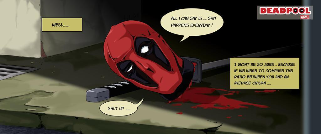 Deadpool... by toukairin