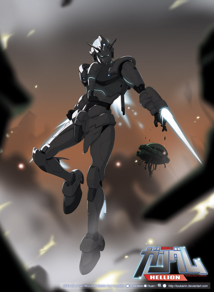 HELLION Mobile Suit Gundam by toukairin