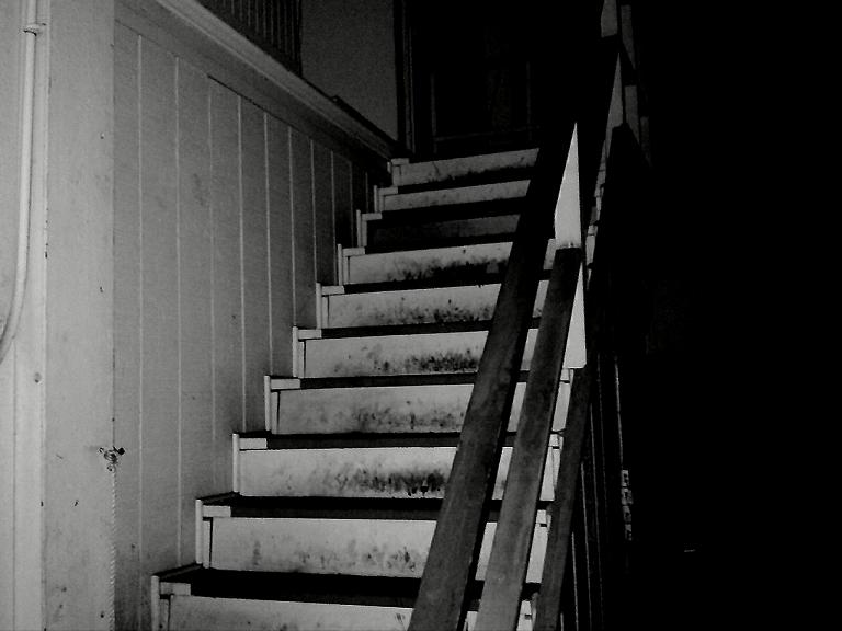 scary stairs scary stairs by punkabilly72