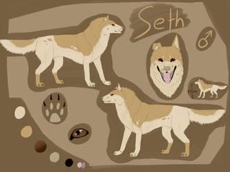 Seth ref by KingiShaga