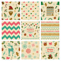 FREE 9 Christmas Seamless Patterns by HelgaHelgy