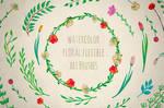Illustrator Floral Art Brushes