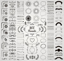 90% OFF! 200 Decorative Elements. by HelgaHelgy