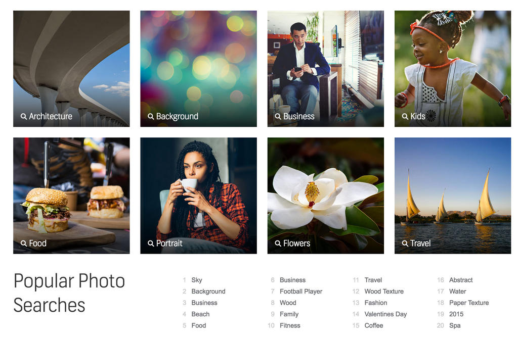 The biggest photo collection on Shutterstock by HelgaHelgy
