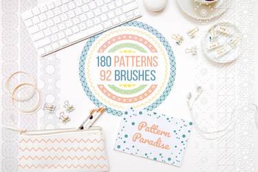Pattern Paradise Bundle by HelgaHelgy
