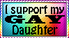 I support my gay daughter by xpekalx