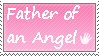 Father of an angel - stamp by xpekalx