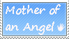 Mother of an angel - stamp by xpekalx