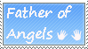 Father of angels - stamp by xpekalx