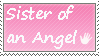 Sister of an angel - stamp by xpekalx