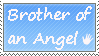 Brother of an angel - stamp by xpekalx