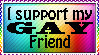 I support my gay friend by xpekalx