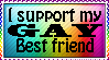I support my gay bff by xpekalx