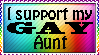 I support my gay aunt by xpekalx