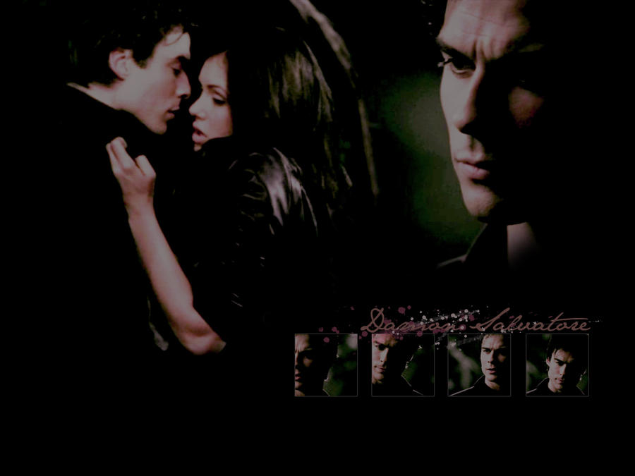 Damon Salvatore Wallpaper by potclotr93