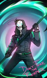 Reaper!Cry: Don't Fear the Reaper (Redraw) by Friendsofold