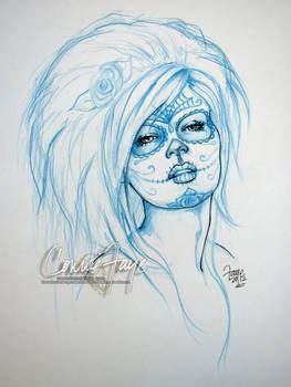 Sugar Skull - Sketch