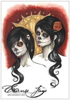 Sugar Skull Sisters