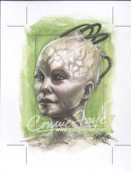 The Borg Queen - Rittenhouse Archives Voyager