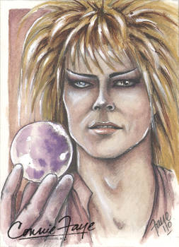 Jareth The Goblin King David Bowie ACEO
