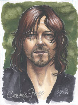 Daryl Dixon Sketch Card