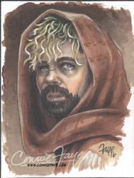 Tyrion Lanister Artist Sketch Card