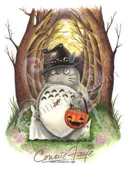 Totoro or Treat by Connie Faye