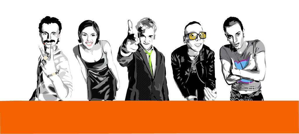 Trainspotting:vector by alxa