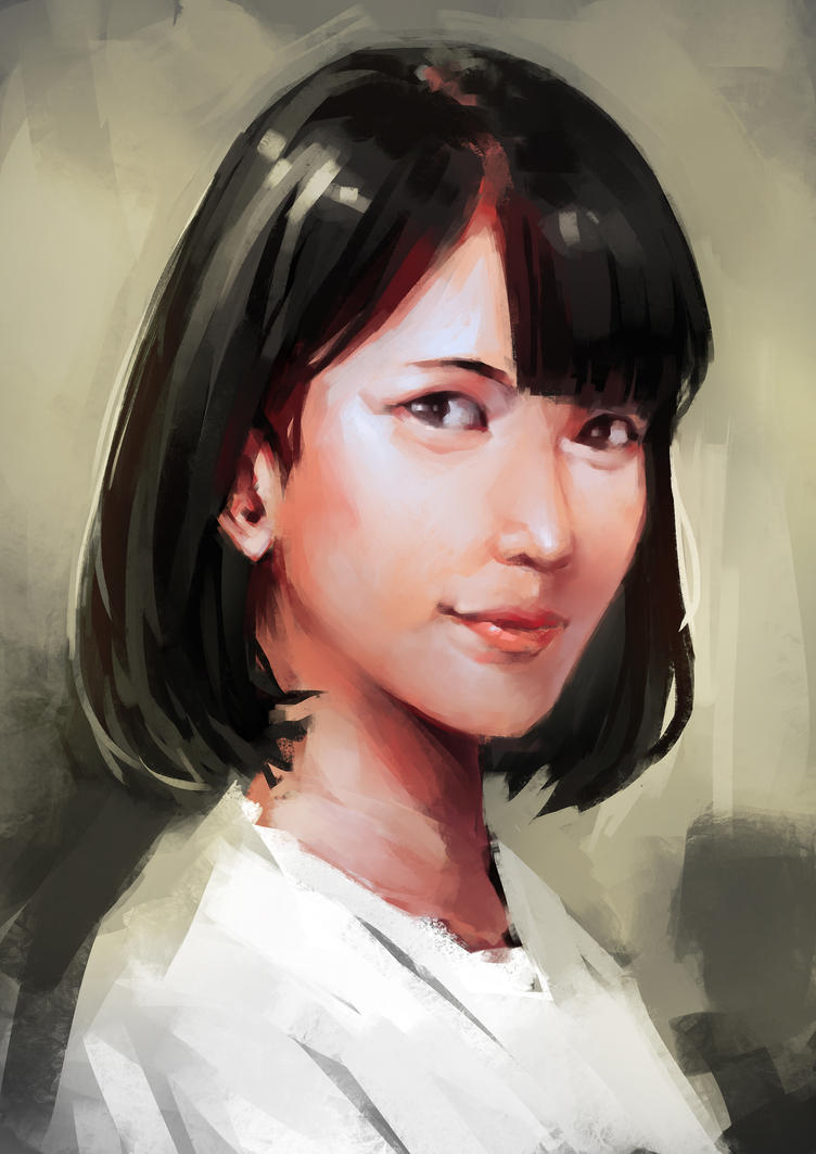 Portrait Study 4 by Cleife