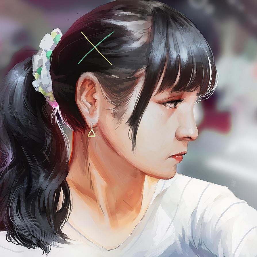 Portrait Study 6 by Cleife