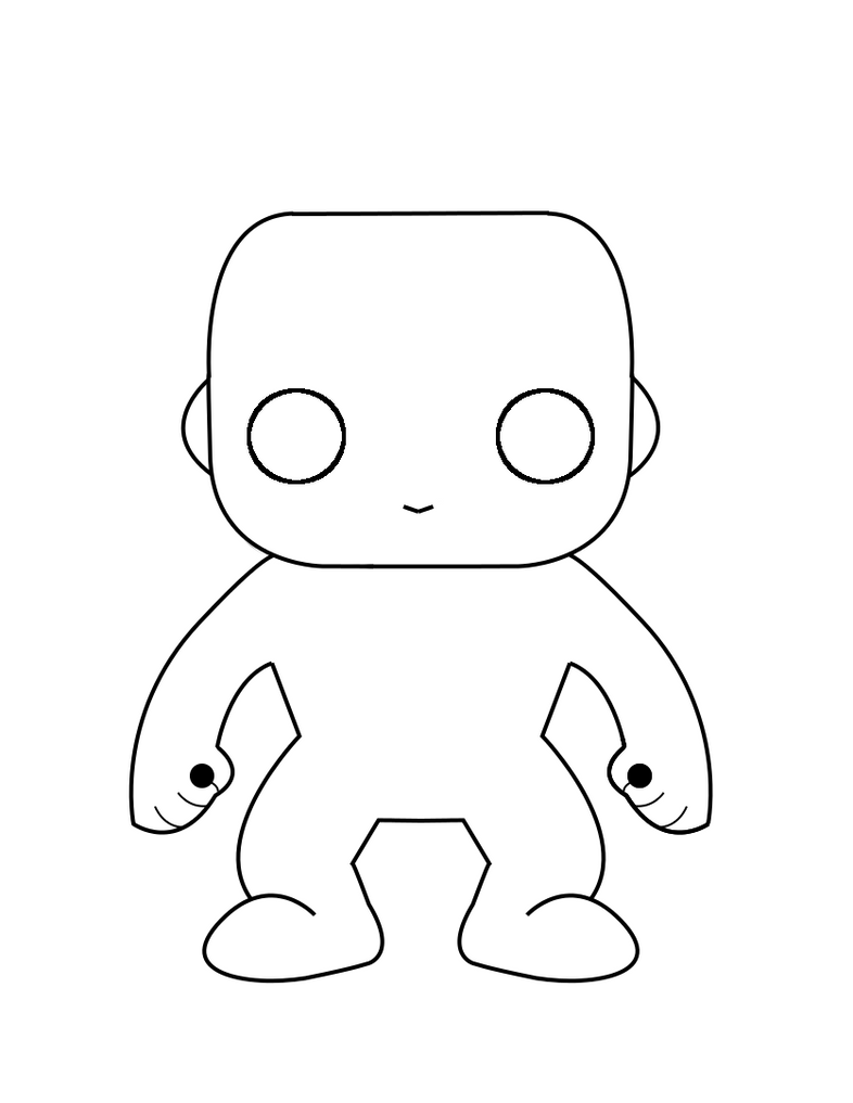 Funko Pop! Figure base by PlasmaGelCookie