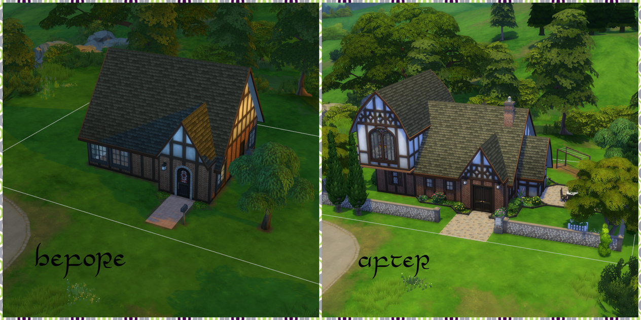 Rustic Residence Makeover by PlasmaGelCookie