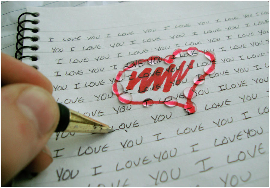 Writing Notes by Red--Roses