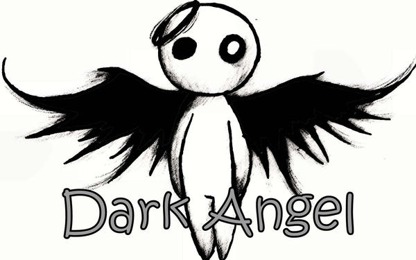 Dark angel by red roses on deviantart for Dark angel coloring pages