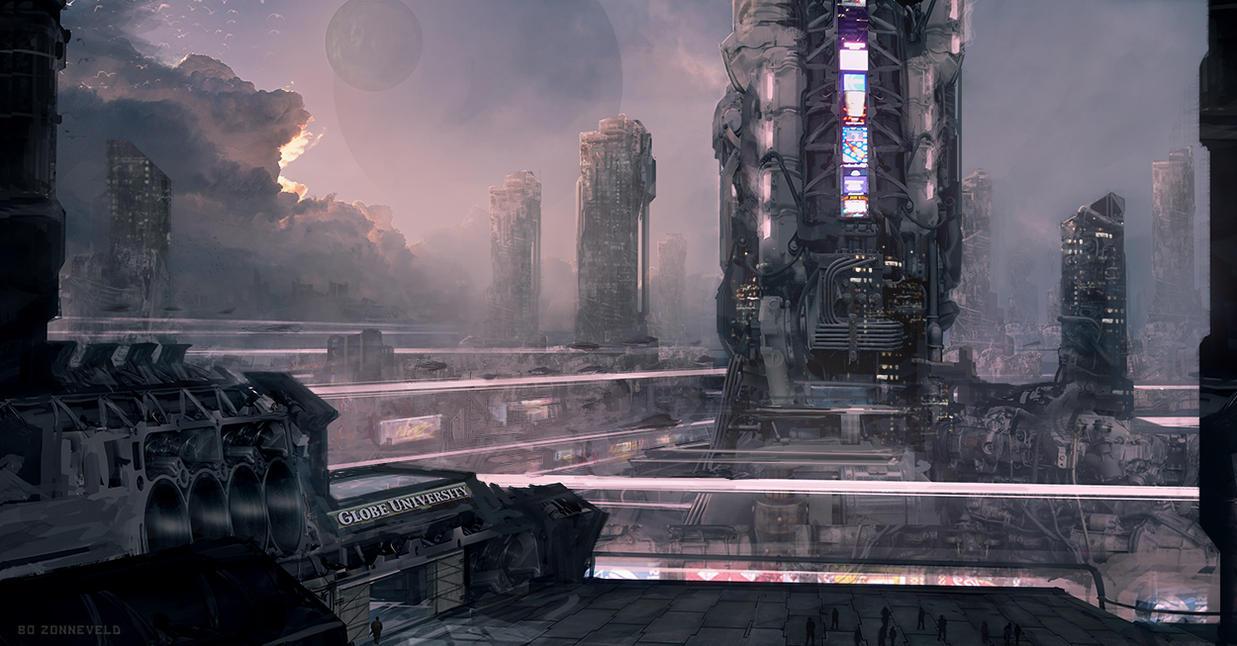 Engine City by bzartt