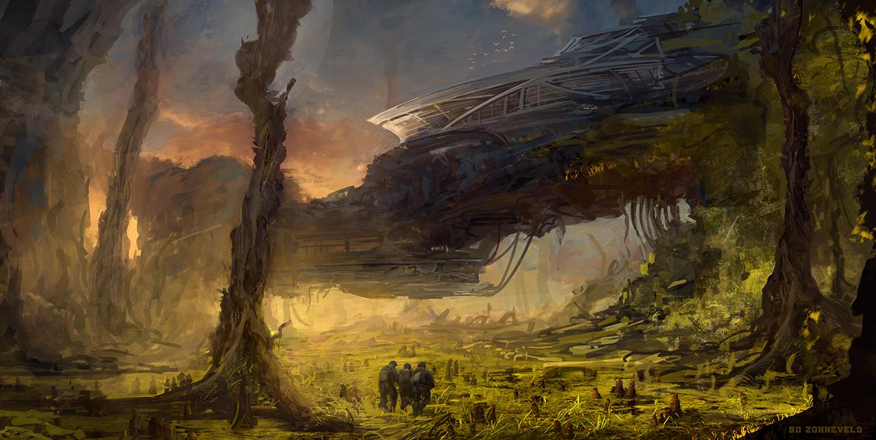 Alienfortress by bzartt
