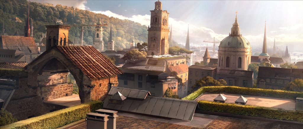 Historic Cityscape by bzartt