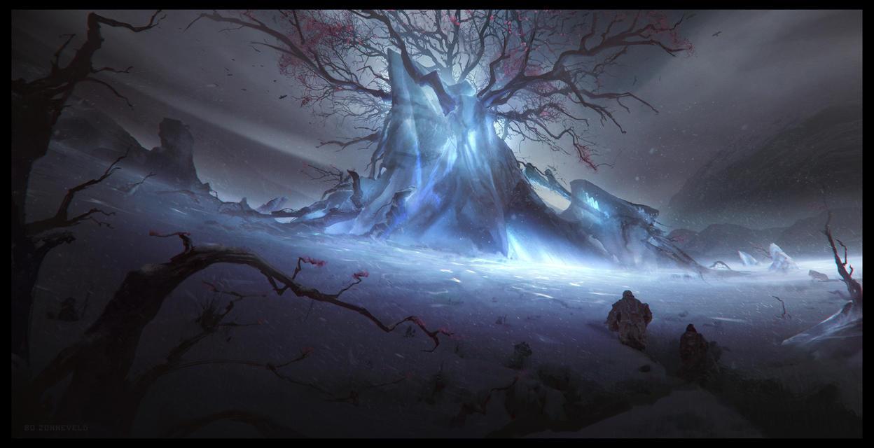 Weirwood Tree by bzartt